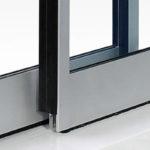 LB18 profili porte automatiche in alluminio label