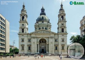 Basilica Santo Stefano di Budapest con installazione Label Spa