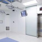 Automazione EVH-E porte ospedaliere label