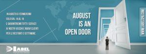 Inviateci i voInviateci i vostri ordini, riceverete regolarmente i nostri prodotti anche in agosto.