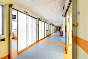Filippo Del Ponte Hospital of Varese with Label Spa automatic entrancese