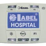 Porta ermetica ospedaliera Label