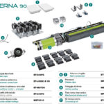 Eterna90 Automation for simple and telescopic sliding doors Label