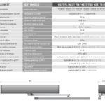 Next 75 porta battente automatica label