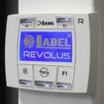 Revolus automazione ridondante porte scorrevoli label